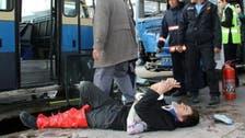 Man survives bus crash, takes selfie