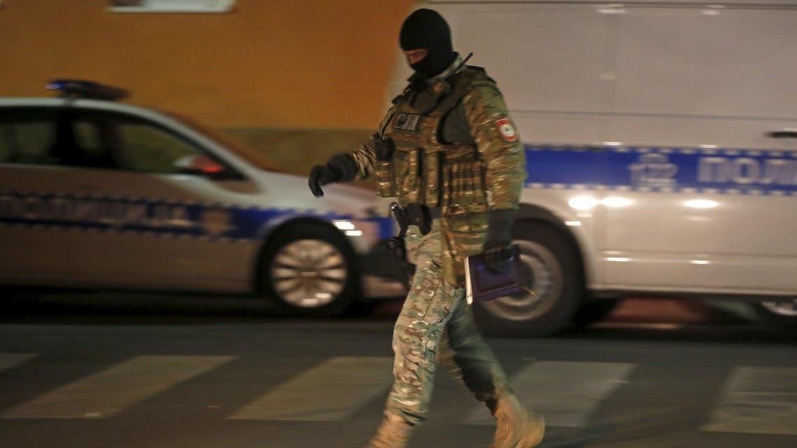 Bosnia attack Reuters