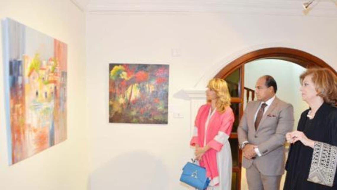 Lina art saudi Gazette