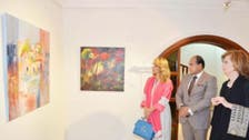 Lebanese artist holds first Jeddah exhibition