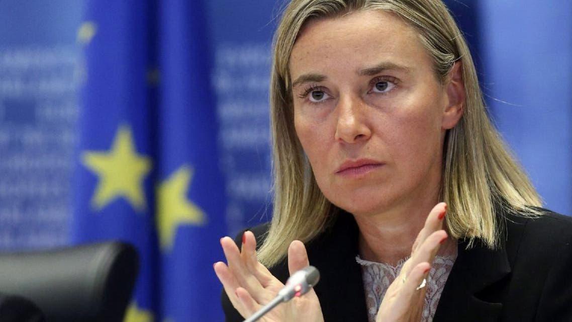 وزيرة خارجية الاتحاد الأوروبي، فديريكا موغيريني