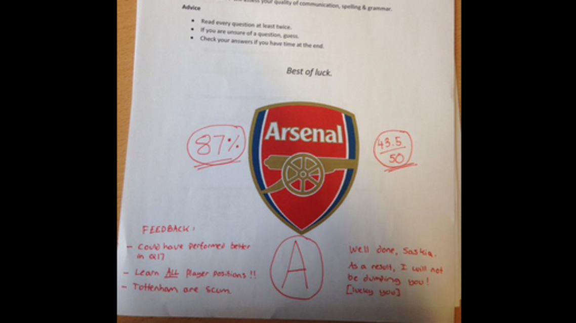 Arsenal - Twitter
