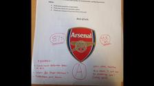 Arsenal fan makes girlfriend sit test on his favorite Gunners