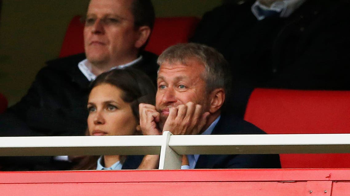 """Chelsea owner Roman Abramovich watches from the stands Action Images via Reuters / John Sibley Livepic EDITORIAL USE ONLY. No use with unauthorized audio, video, data, fixture lists, club/league logos or """"live"""" services. Online in-match use limited to 45 images, no video emulation. No use in betting, games or single club/league/player publications. Please contact your account representative for further details."""