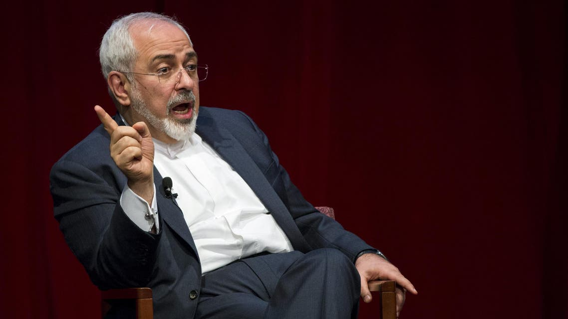 Iranian Foreign Minister Mohammad Javad Zarif speaks at the New York University (NYU) Center on International Cooperation in New York. Reuters