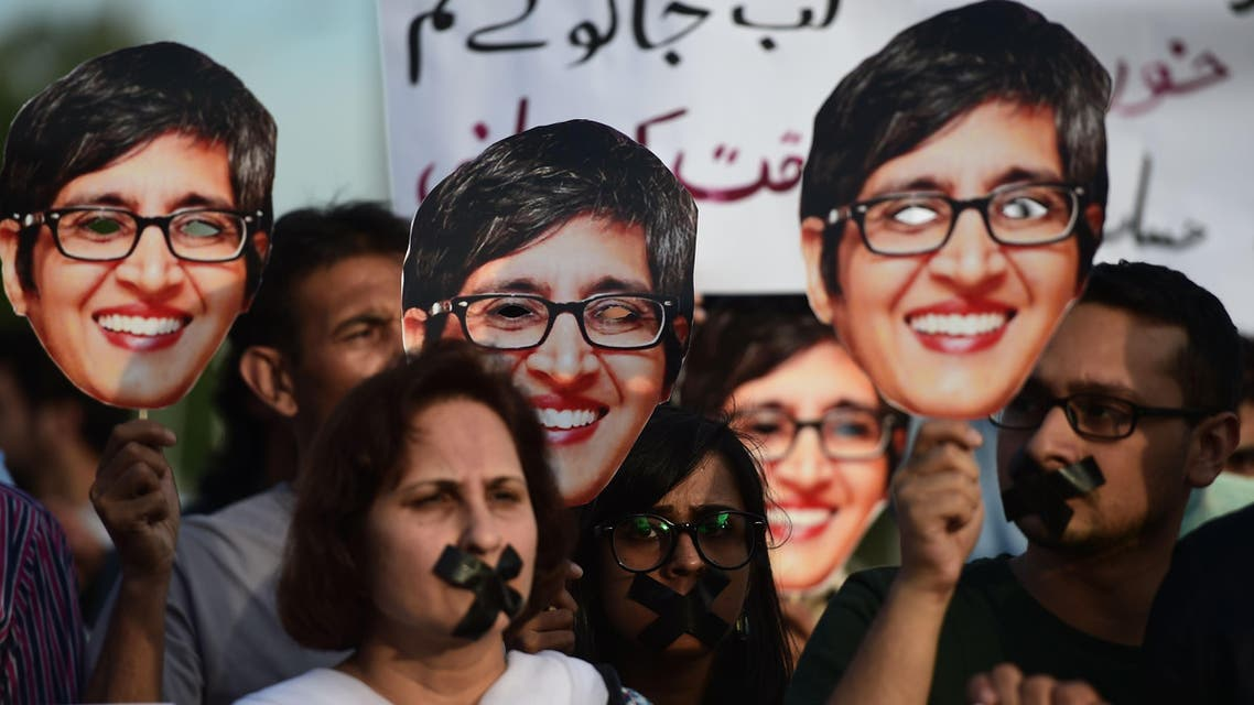 Protests in Pakistan over rights activist's murder
