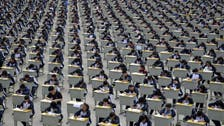 Asian students cram for SATs with bootleg tests