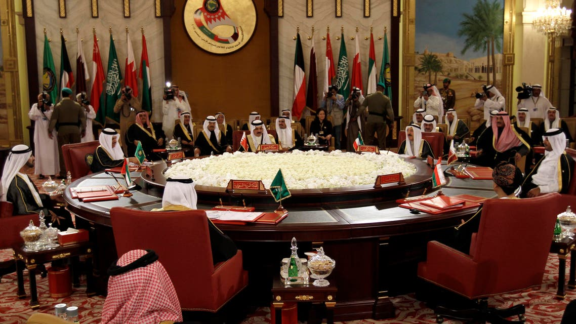 The Gulf Cooperation Council leaders attend the GCC summit in Sekhir, Bahrain. (File: AP)
