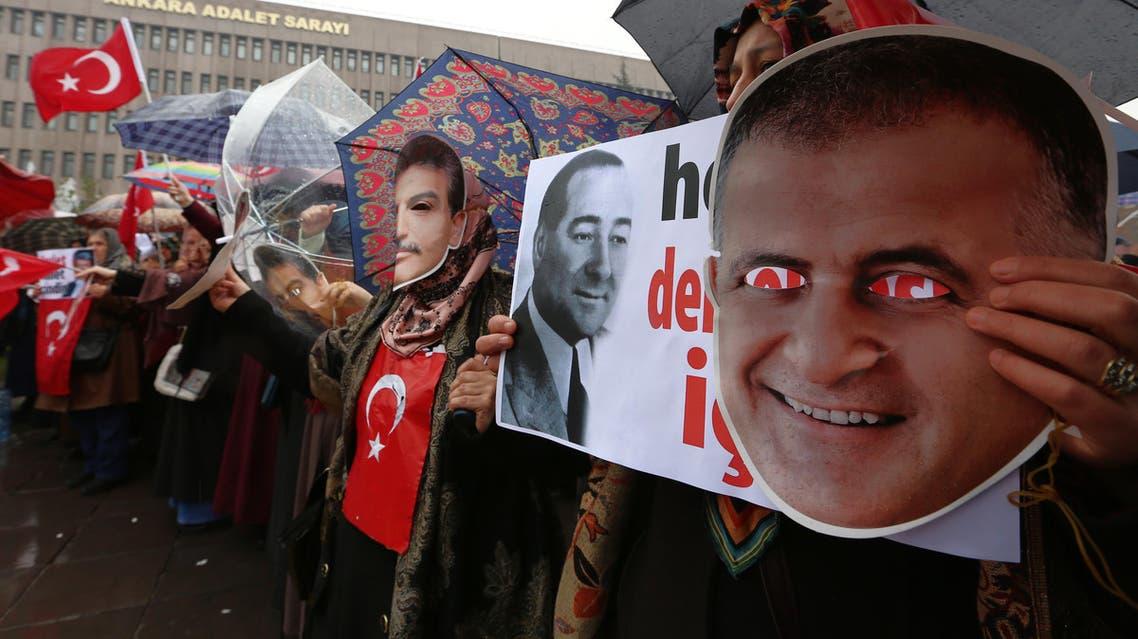 protest erdogan AP
