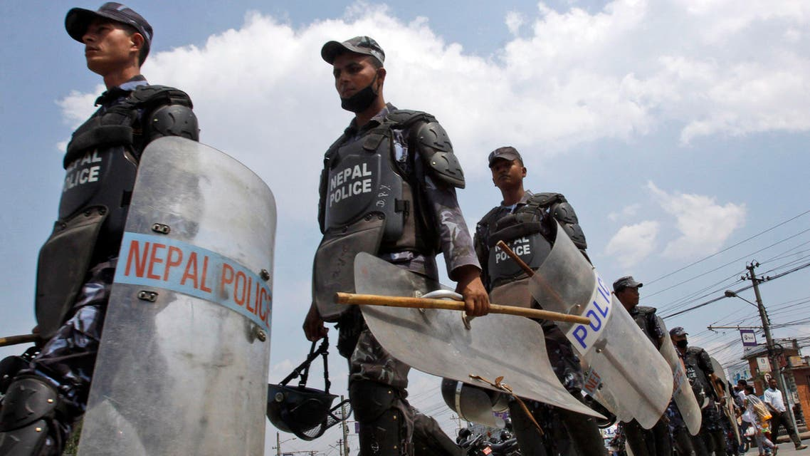 Nepal police AP