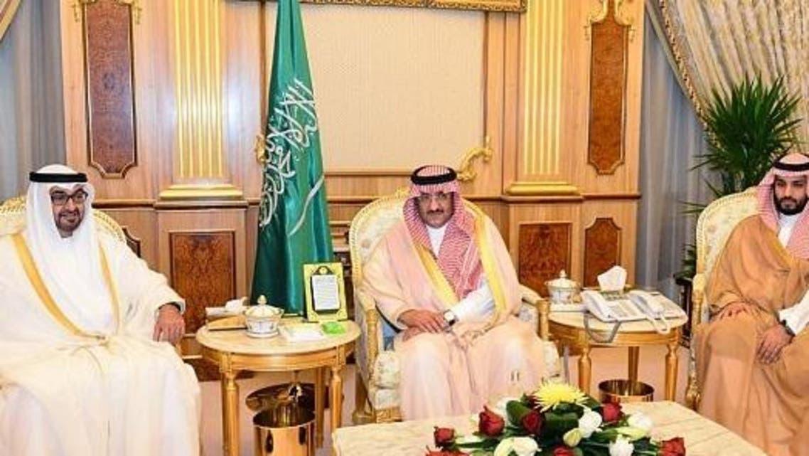 ولي عهد ـبو ظبي في قصر اليمامة