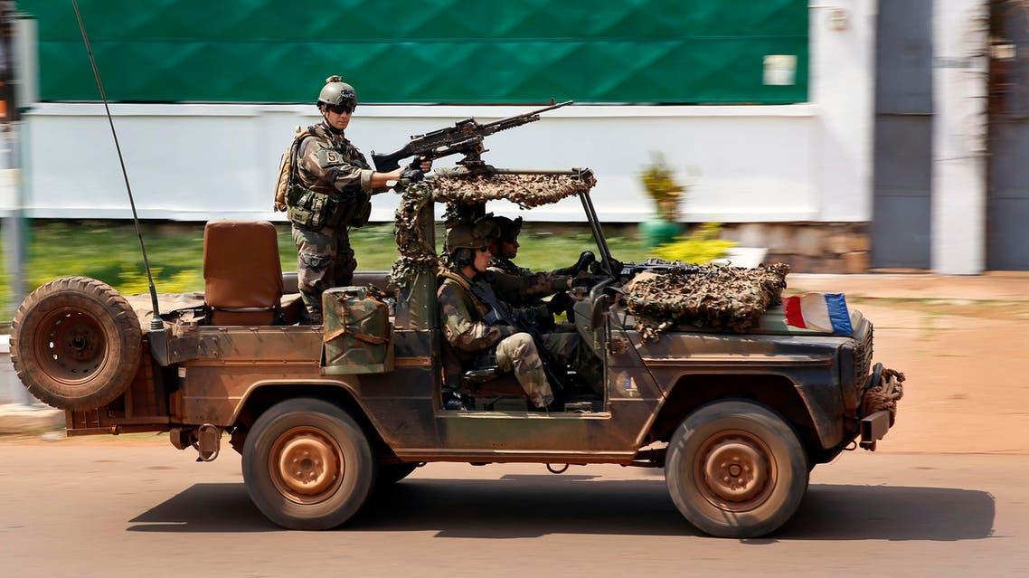 French Special Forces race through Bangui, Central African Republic, Thursday, Dec. 5, 2013. (File: AP)