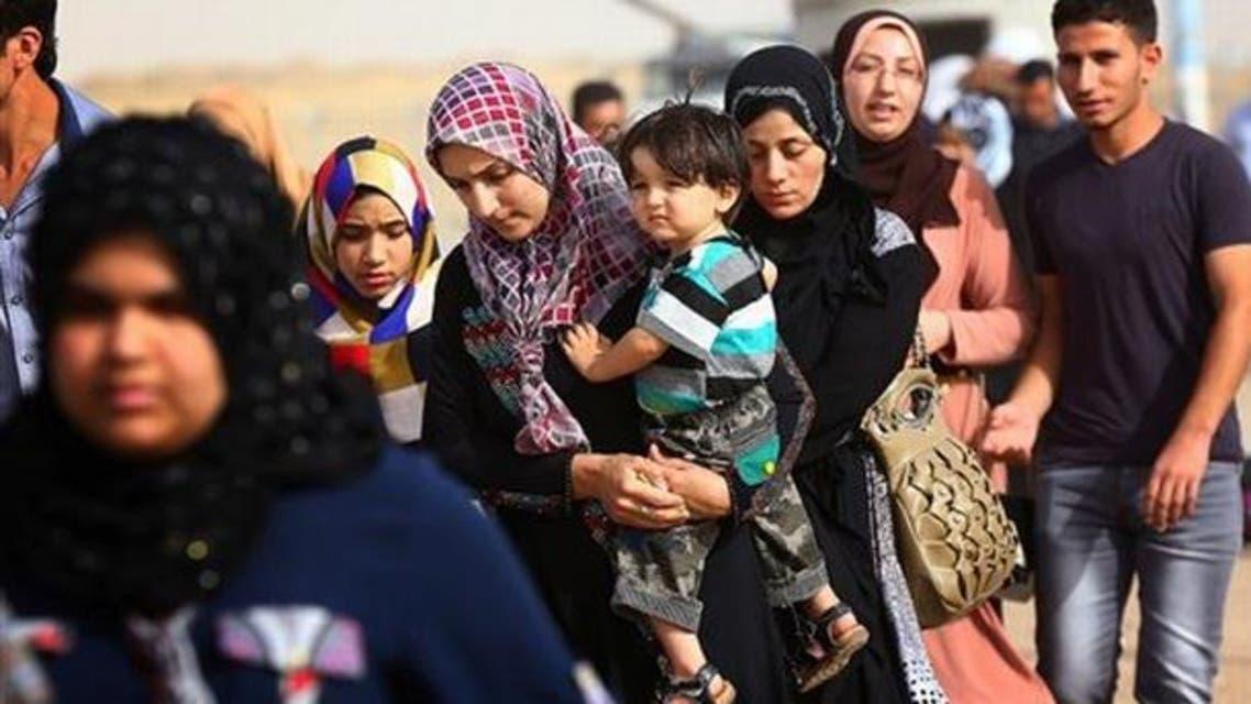نازحون عراق