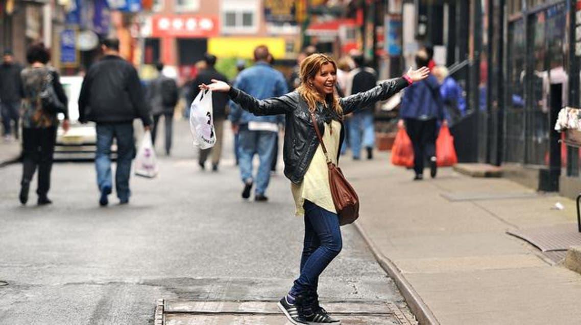 شابة في نيويورك