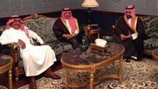 شاہ سلمان کی اپنے بھائی شہزادہ مقرن سے ملاقات
