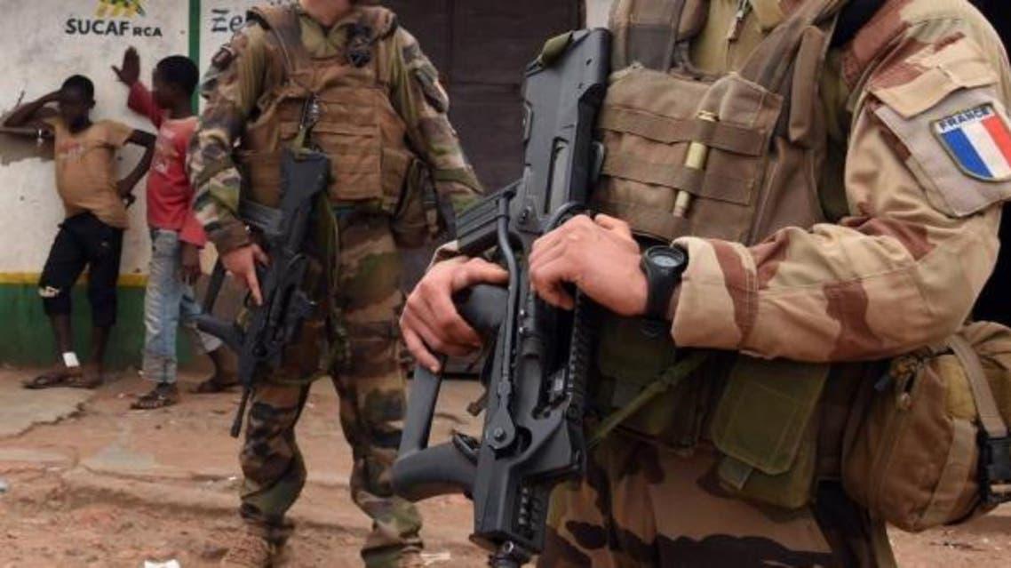 إفريقيا الوسطى فرنسا جنود