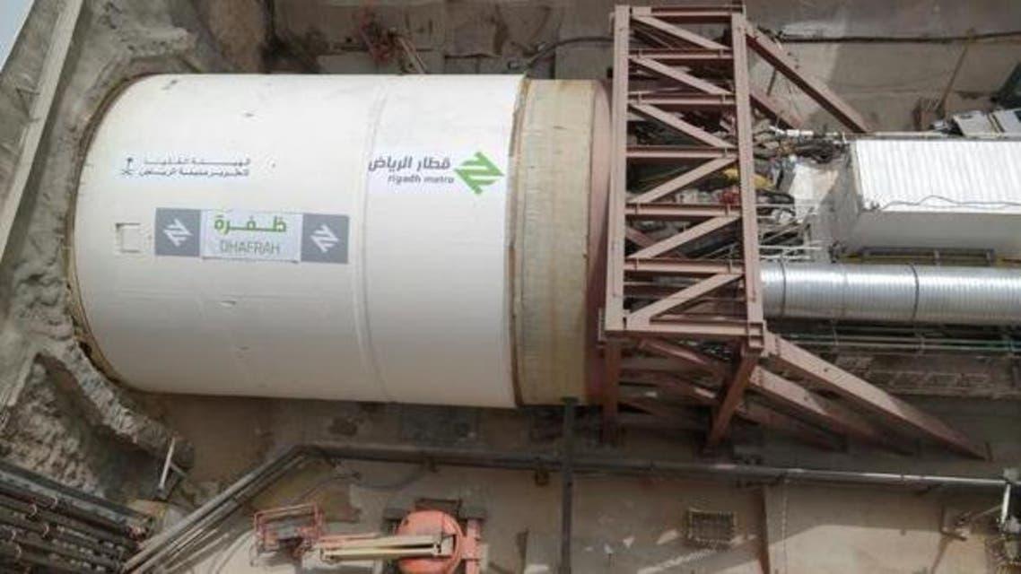 حفر قطار الرياض