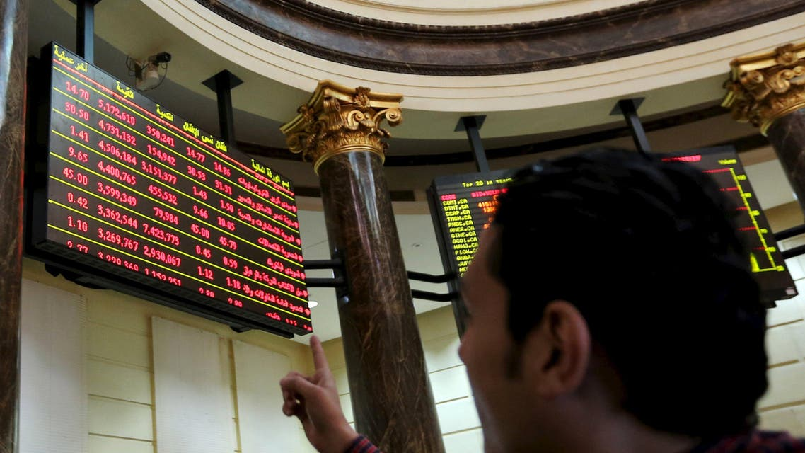 Arab stock markets, with the exception of Egypt (pictured), rose after Saudi Arabia confirmed the date it would open its stocks to foreigners. (Reuters)