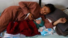 Moment of joy as Nepal baby born in field hospital after quake