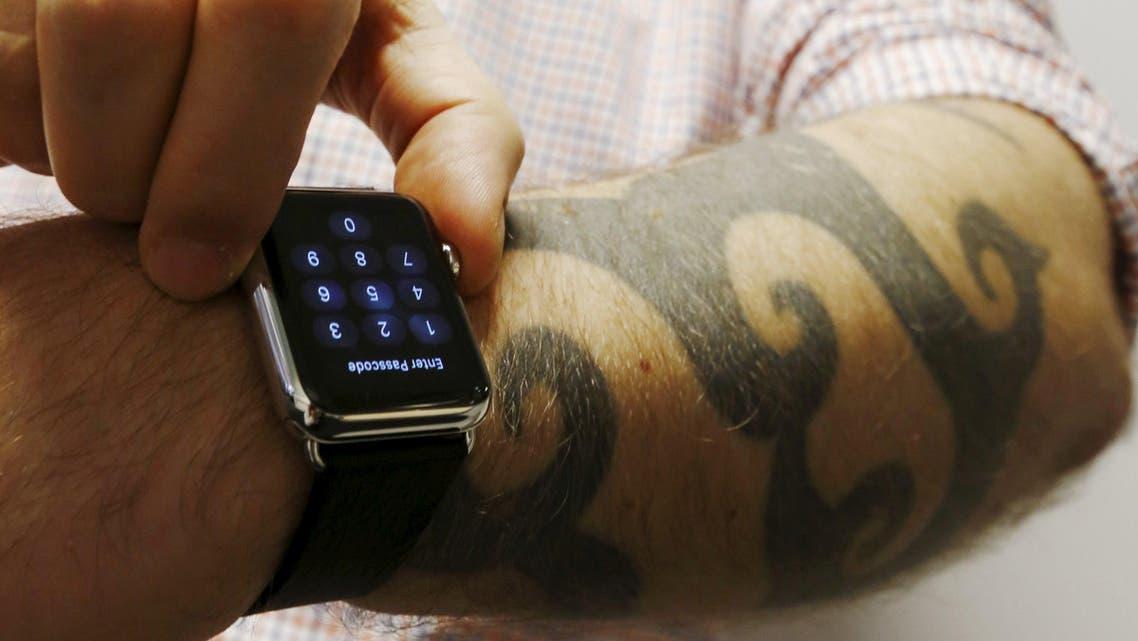 apple watch tattoo reuters