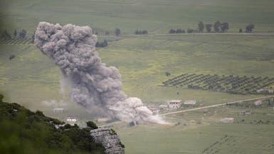 قوات الأسد تستهدف قرية بريف حماة بغاز الكلور السام