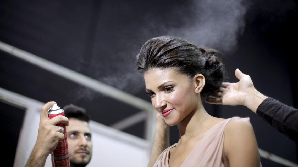 Fashion show in Beirut