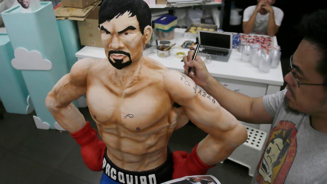 Manny Pacquiao cake AP