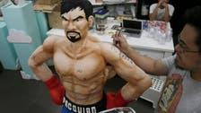 Filipino baker makes life-sized cake of Manny Pacquiao