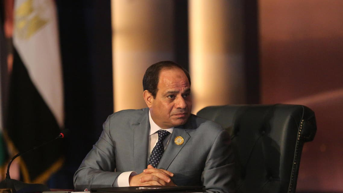 In an exclusive interview with Al Arabiya News Channel in March, Sisi reiterated the strength of the relationship between Egypt and Saudi Arabia. (File photo: AP)