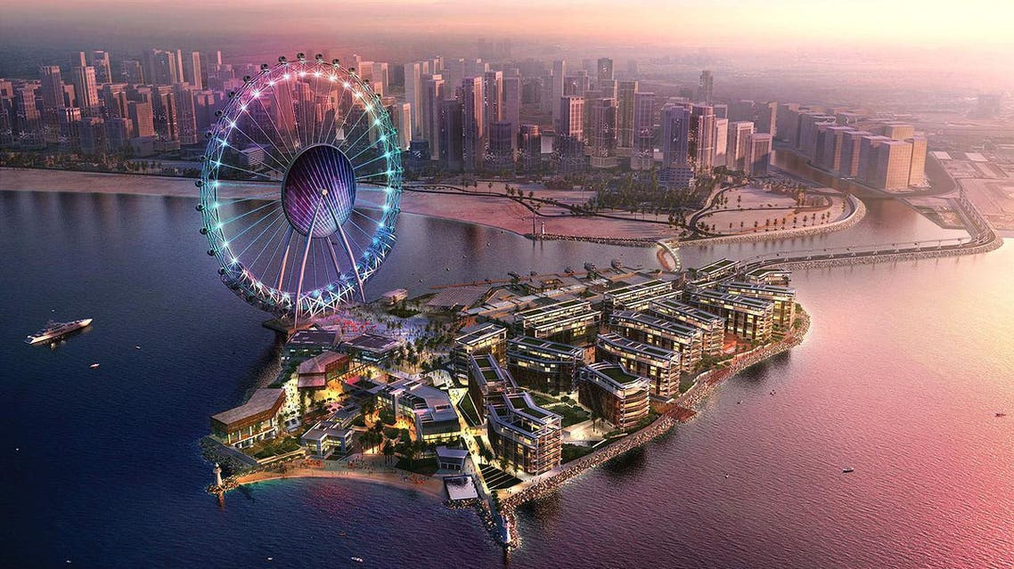 Plans for Bluewaters Island in Dubai include what is set to be the world's largest Ferris wheel. (Photo courtesy: Meraas Holding)