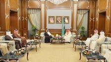 Saudi crown prince meets his Bahraini counterpart in Riyadh