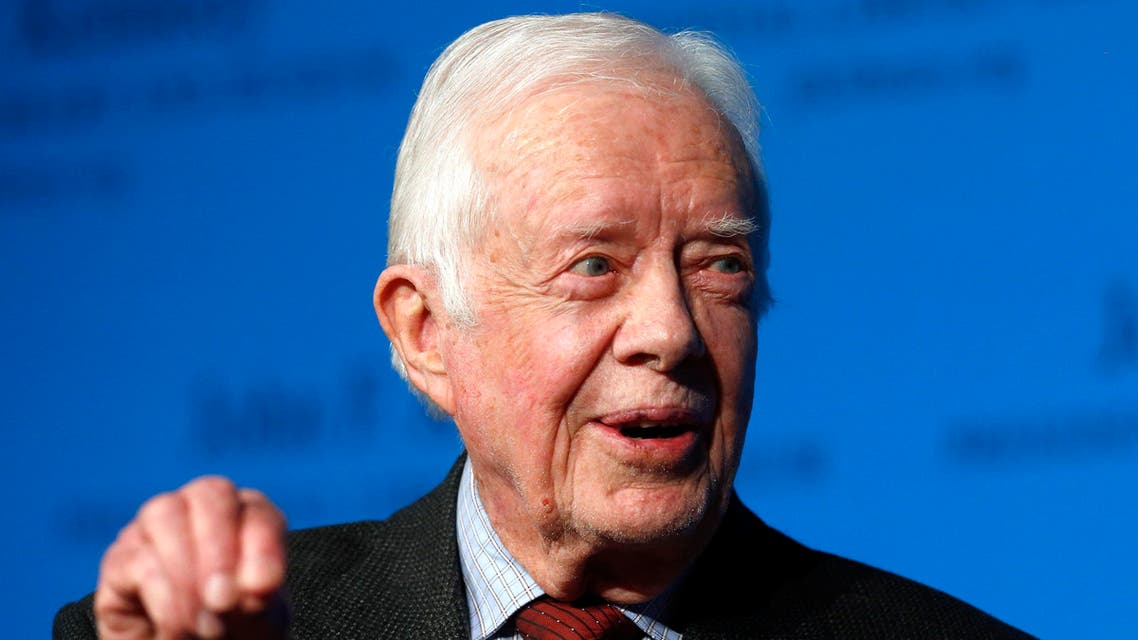 Carter has become one of the most prominent critics of Israel, notably after calling last summer's war on Gaza illegitimate. (File photo: AP)