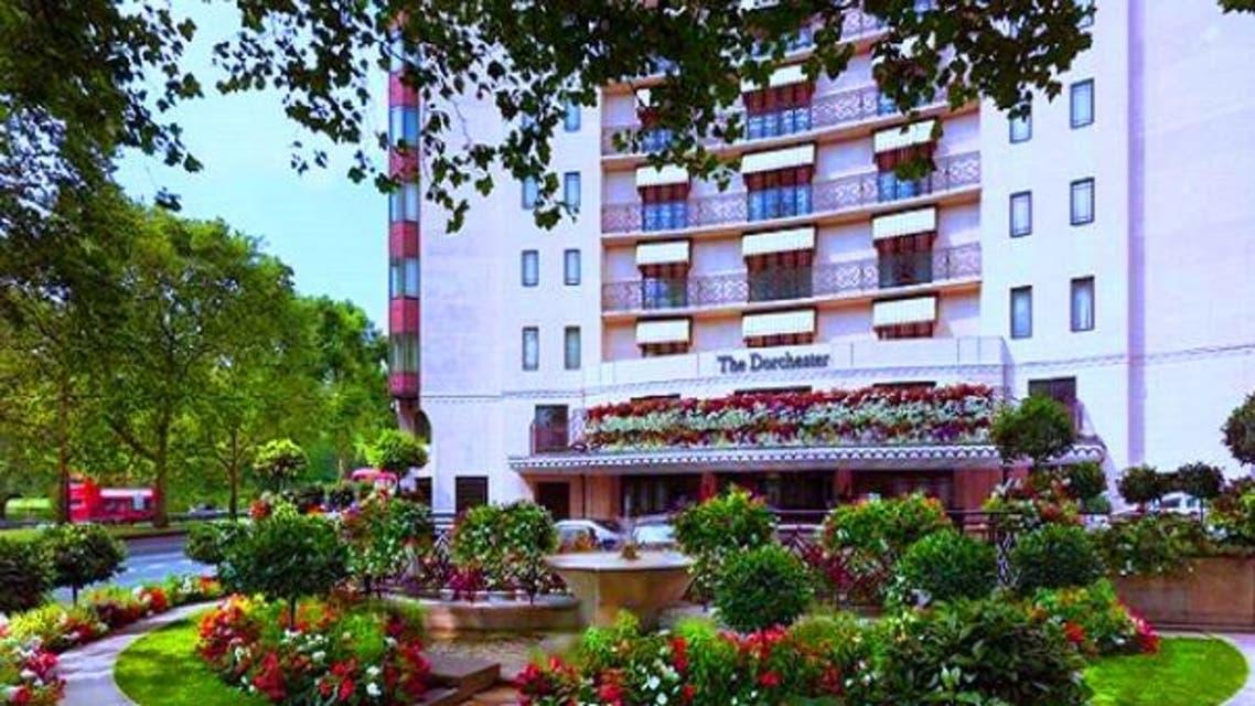 فندق دورشستر الواقع مقابل حديقة هايدبارك في لندن