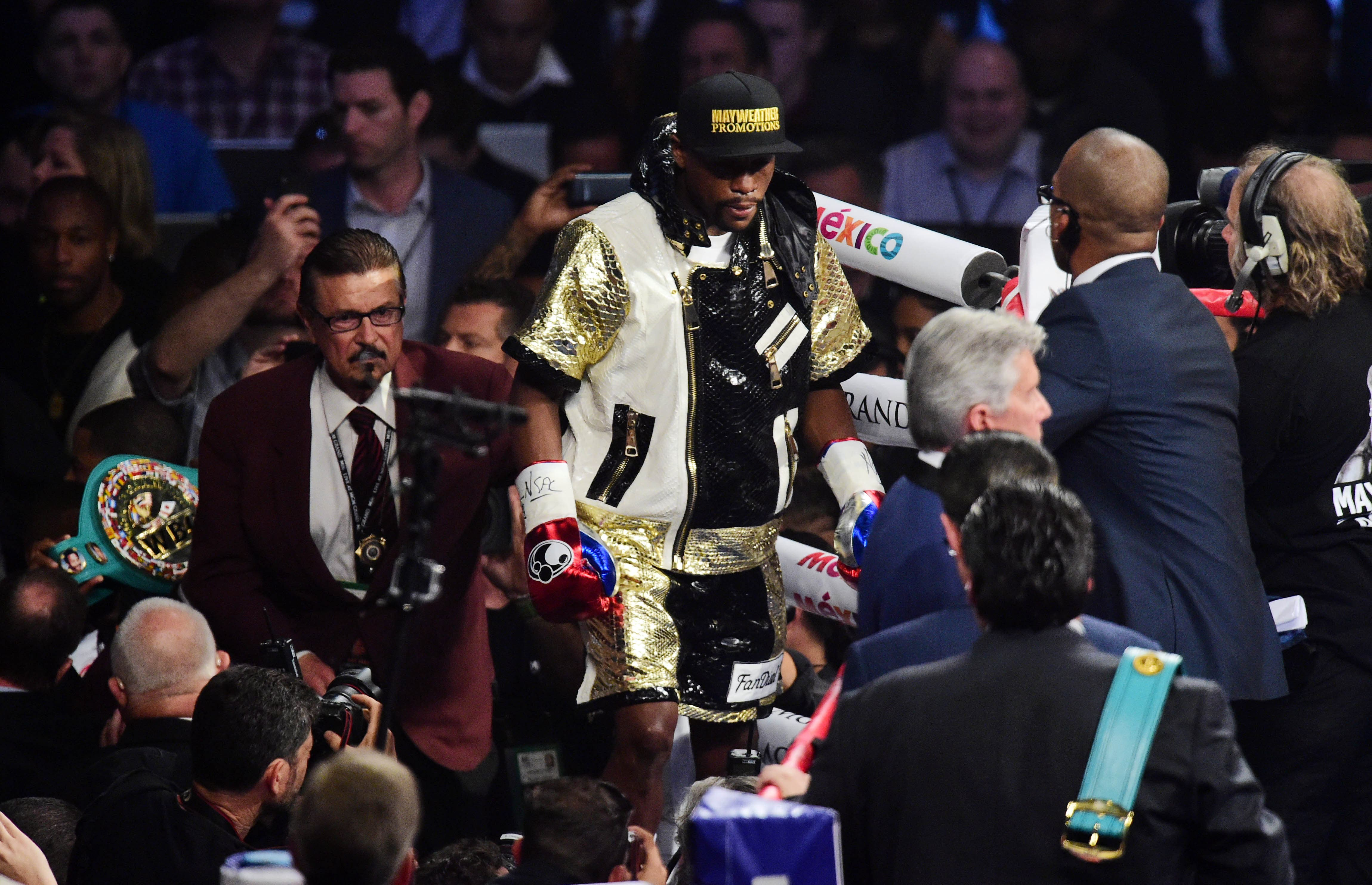 mayweather reuters