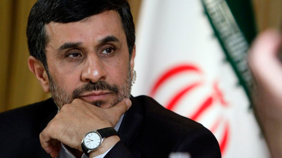 Mahmoud Ahmadinejad, President of the Islamic Republic of Iran, listens during an interview with editorial staff from the Associated Press on Thursday, Sept. 22, 2011 in New York.