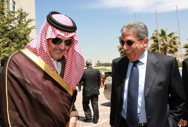 عمرو موسى و سعود الفيصل