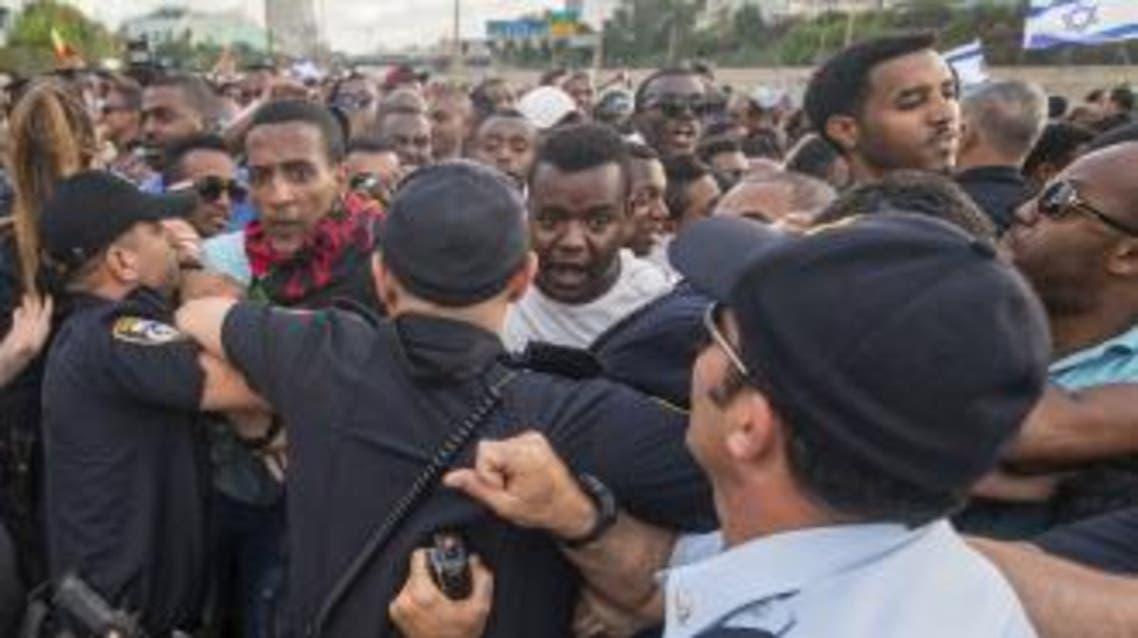 تظاهرة الأثيوبيين/إسرائيل