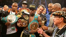 Mayweather beats Pacquiao in fight of the century