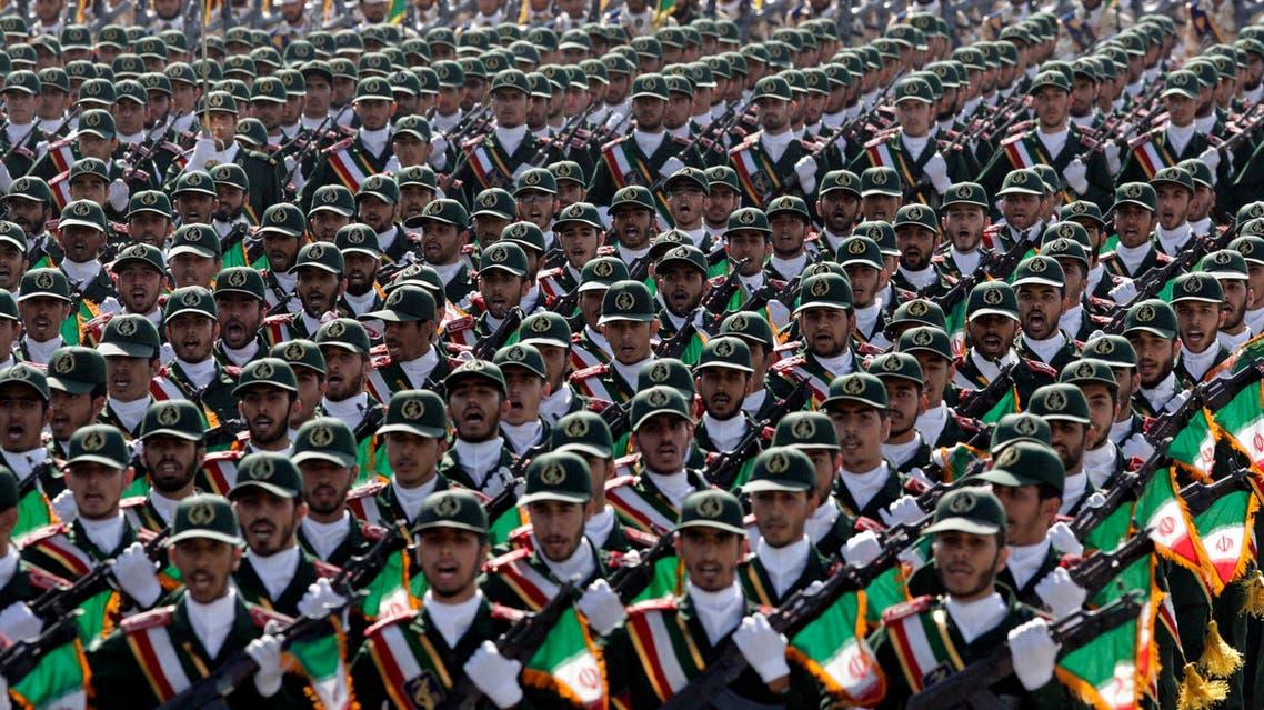 Iranian Revolutionary Guards AP