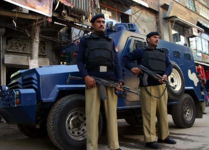 الشرطة الباكستانية (فرانس برس)