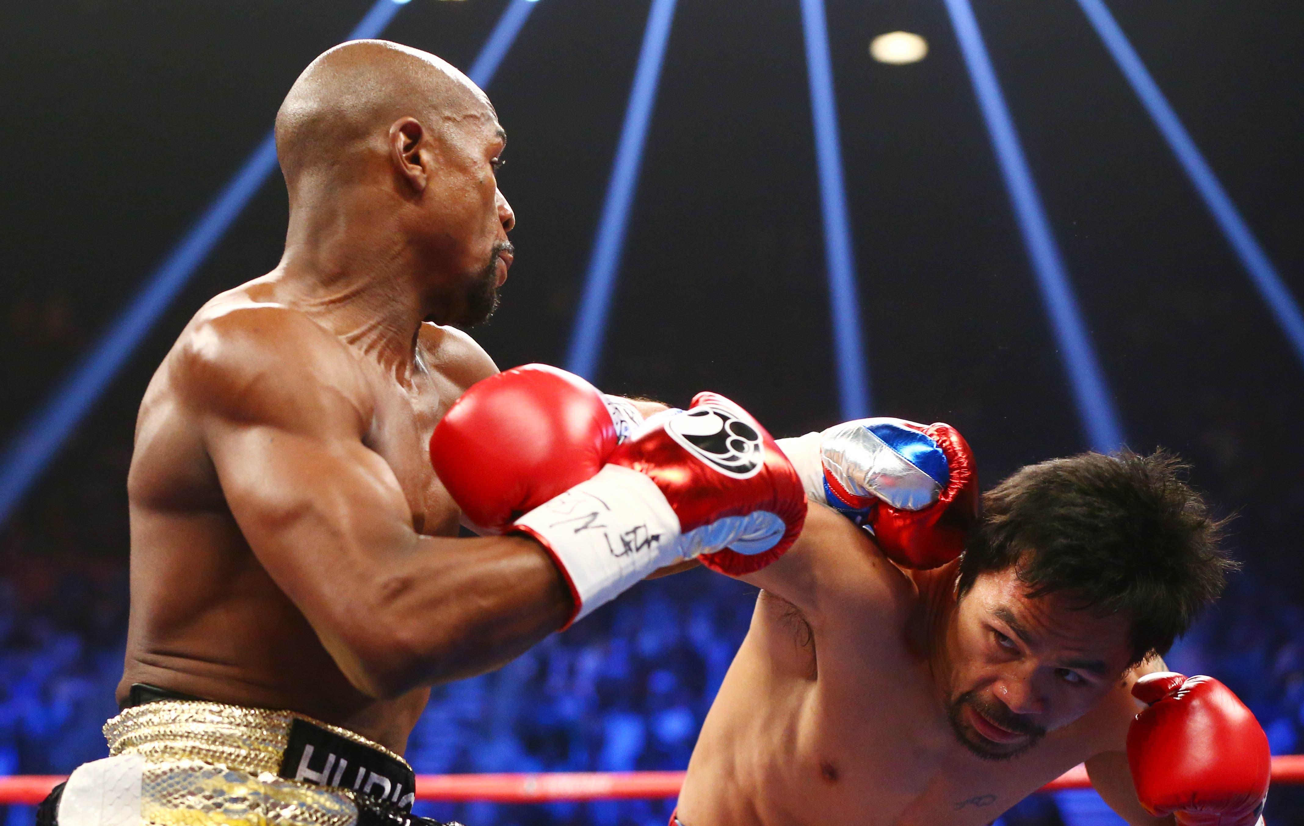 Boxing: Mayweather vs Pacquiao Reuters