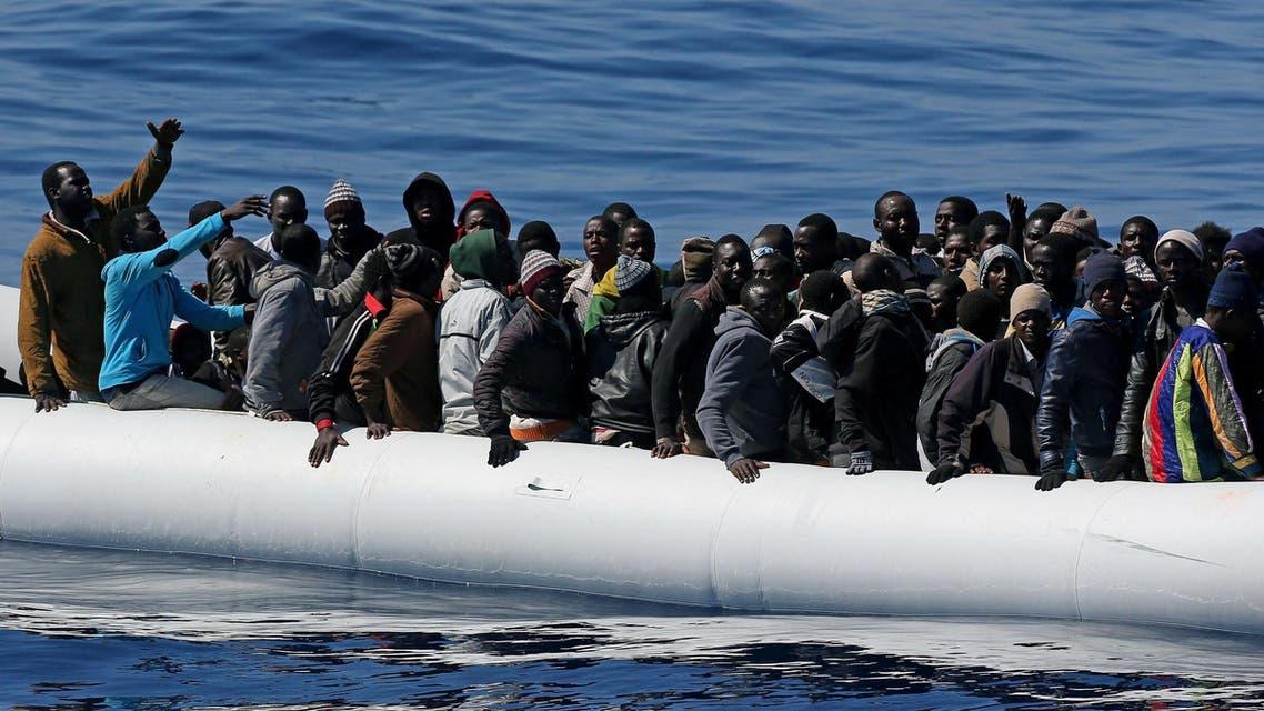 migrants libya ap