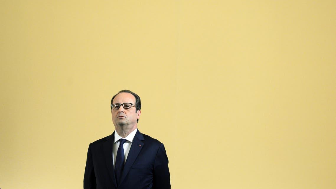 Hollande will meet Qatar's Emir Sheikh Tamim bin Hamad al-Thani before flying to Saudi Arabia. (File photo: AP)