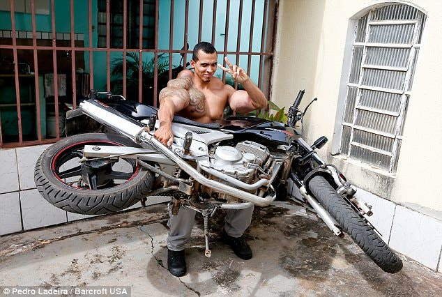 Meet the real life Hulk who injected himself with of oil and alcohol