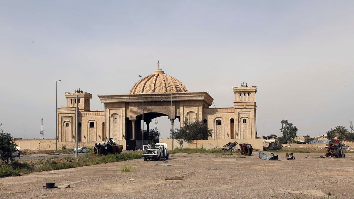 Abandoned Saddam Palace in Tikkrit