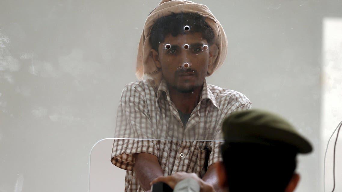Yemeni man entering Saudi Arabia waits to stamp his passport at Al-Tiwal crossing in Jizan on Saudi Arabia's border with Yemen. (File: Reuters)