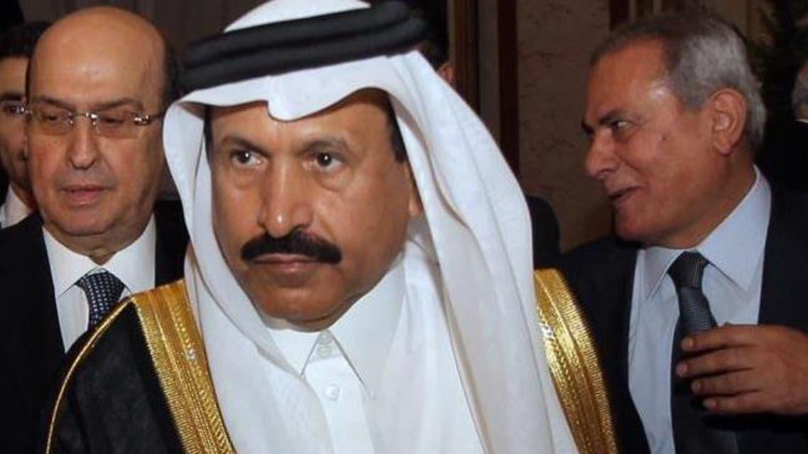 Saudi Ambassador to Lebanon Ali Awad Asiri attends a ceremony in Beirut, Monday, Sept. 23, 2013. (The Daily Star/Mahmoud Kheir )
