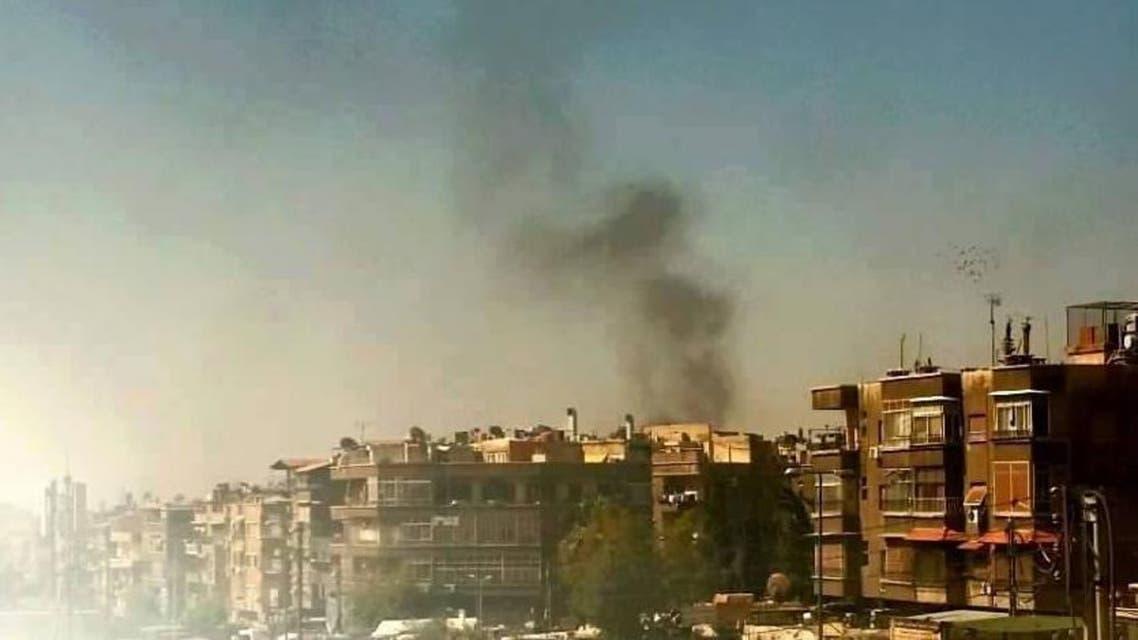 استهداف موكب لواء في دمشق