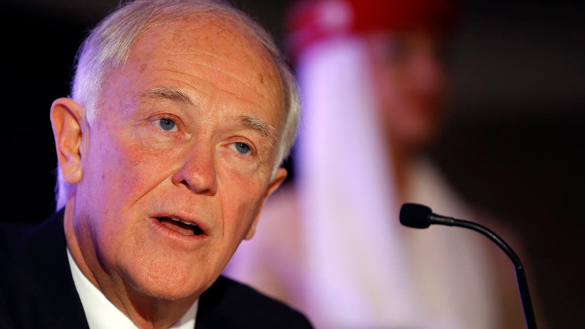 Emirates president Tim Clark promises to 'deal a sledgehammer' blow to report alleging the airline gets unfair government subsidies. (AP)
