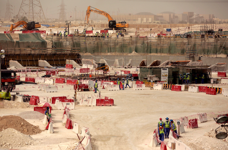 qatar stadium AP